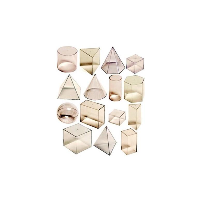 Set de 15 corpuri geometrice
