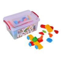 Set de constructie pentru copii Mono Blocks, 100 piese