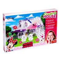 Set de construit si decorat Minnie Mouse Trefl, 42 piese