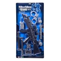 Set de joaca Machine Gun, arma si accesorii, 10 piese