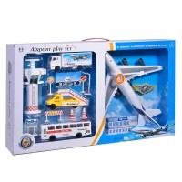 Set de joaca aeroport, accesorii incluse