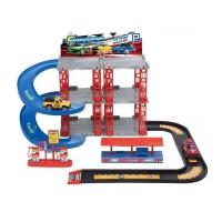 Set de joaca garaj, 2 niveluri, 47 x 40 x 26 cm, 2 masini incluse, 3 ani+