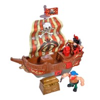 Set de joaca nava pirat, accesorii incluse