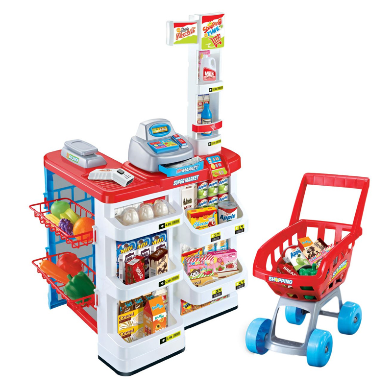 Set de joaca supermarket, 24 accesorii, 3 ani+ 2021 shopu.ro