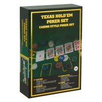 Set de poker Texas Hold'em, 200 chips-uri