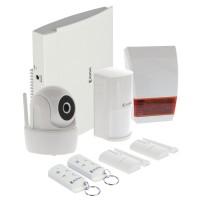 Set securitate pentru case inteligente Konig, interfata RJ45, stocare microSD, tehnologie Wi-Fi
