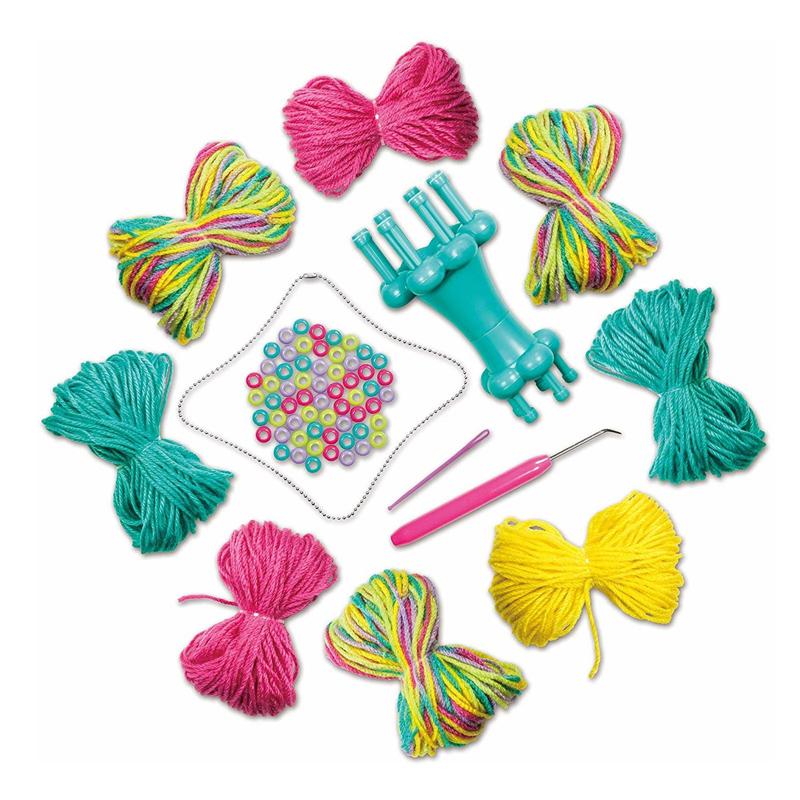Set de tricotat Accesorii, 60 margele, 6 ani+ 2021 shopu.ro