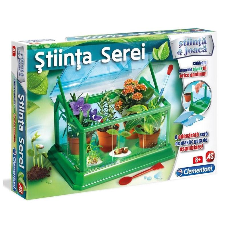 Set educativ Stiinta Serei Clementoni, 8 ani+