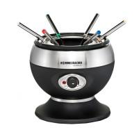 Set fondue Beper, 350 W, 800 ml, 6 furculite, termostat ajustabil