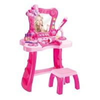 Set frumusete pentru fetite, microfon si accesorii incluse