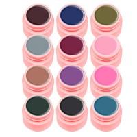 Set geluri color Canni Natural Elegant Series, 12 culori