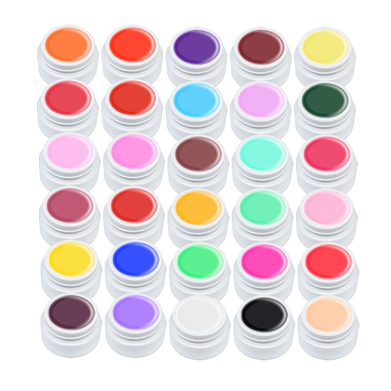 Set geluri color Lila Rossa Pure Series, 5 ml, 36 bucati