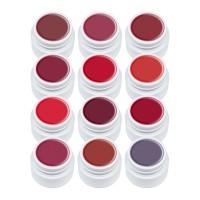 Set geluri color Lila Rossa Red Series, 5 ml, 12 bucati