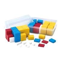 Set greutati plastic Miniland, 76 piese, Multicolor