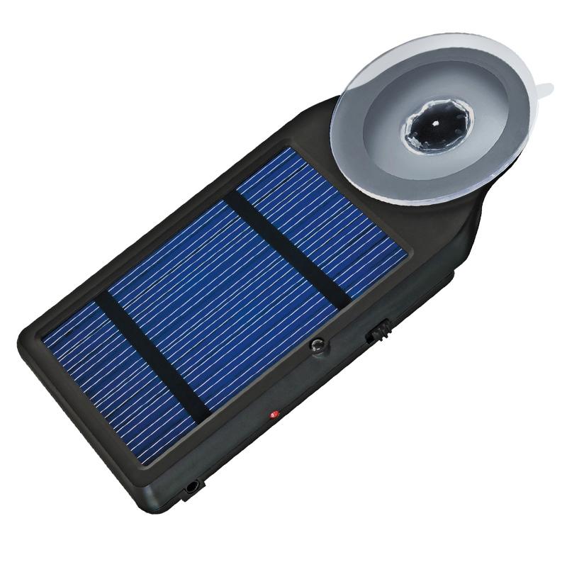Set incarcator solar National Geographic, 1600 mAh, ventuza geam, 11 conectori inclusi 2021 shopu.ro