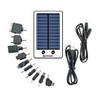 Set incarcator solar universal Bresser, 2000 mAh, mini USB, 10 conectori
