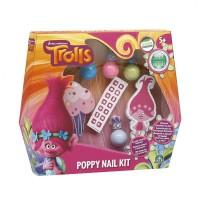 Set infrumusetare a unghiilor Poppy, colectia Trolls