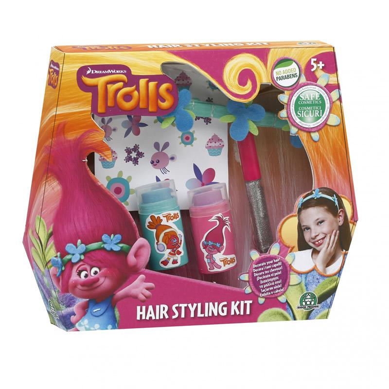 Set infrumusetare pentru par Hairy, colectia Trolls 2021 shopu.ro