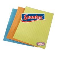 Set lavete sintetice Spontex, 3 bucati
