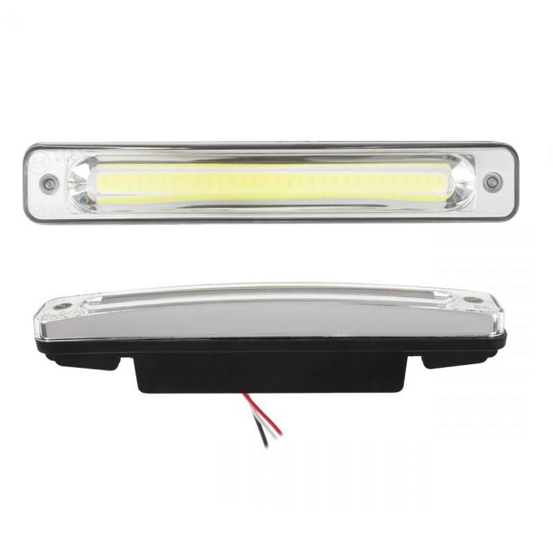 Set lumini auto de zi Kemo URZ3332, 2 x 3 W, 6000 K