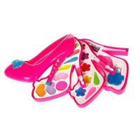 Set machiaj pentru fetite, 30 x 27 cm, forma pantof