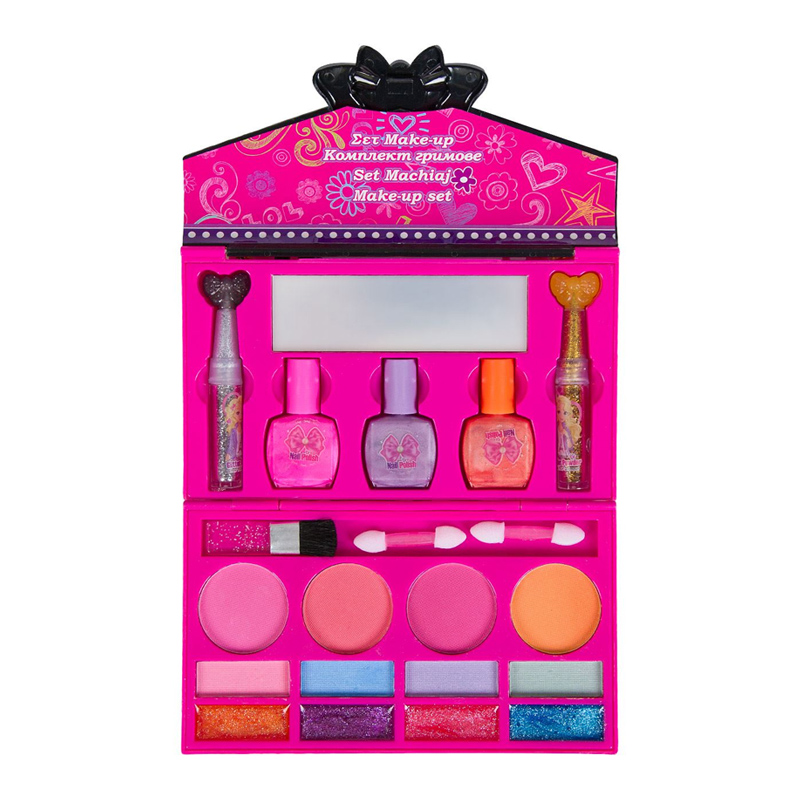 Set machiaj pentru fetite Make-up Set, 18 x 20 cm, tip poseta 2021 shopu.ro