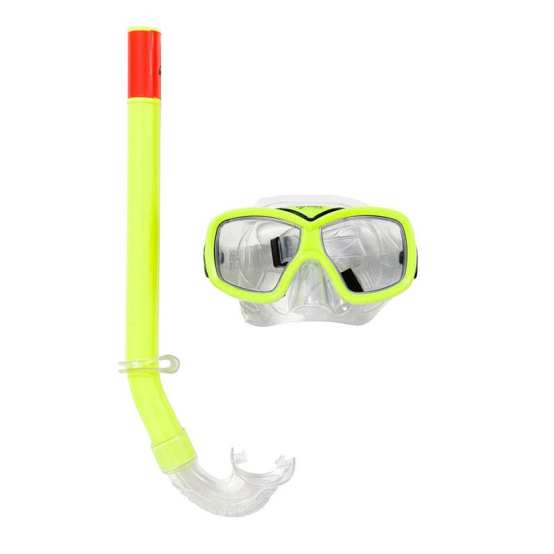 Set masca si tub pentru inot Wave Sports, 6-12 ani 2021 shopu.ro