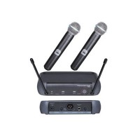 Set 2 microfoane profesionale wireless PGX4, 60 m