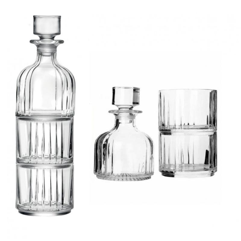 Set pahare whisky Combo RCR, 370 ML, sticla cristalina 2021 shopu.ro