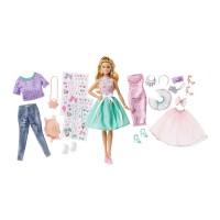 Set papusa si accesorii imbracaminte Barbie Mattel, 3 ani+