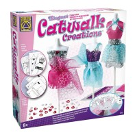 Set pentru croitorie Catwalk Creations Creative, 3 manechine incluse