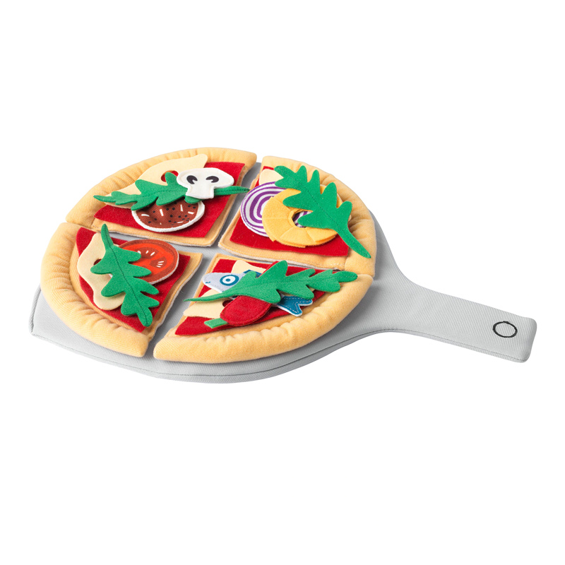 Set pizza pentru copii, 24 piese, tocator inclus 2021 shopu.ro