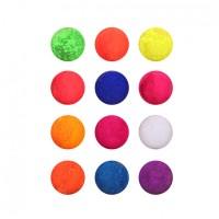 Set pudra acrilica pentru unghii, 12 culori, Multicolor