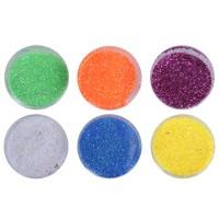 Set sclipici pentru unghii, 6 culori