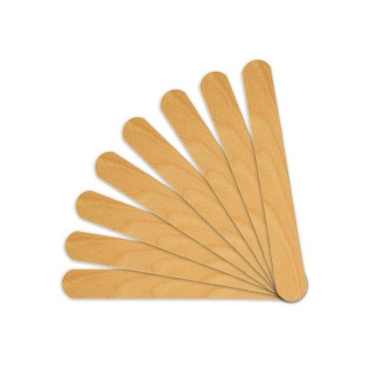 Set 50 spatule mici pentru ceara, lemn 2021 shopu.ro