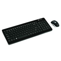 Set tastatura wireless si mouse Canyon, Negru
