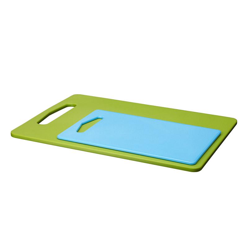 Set 2 tocatoare plastic, 24 x 15 cm/34 x 24 cm, albastru/verde 2021 shopu.ro