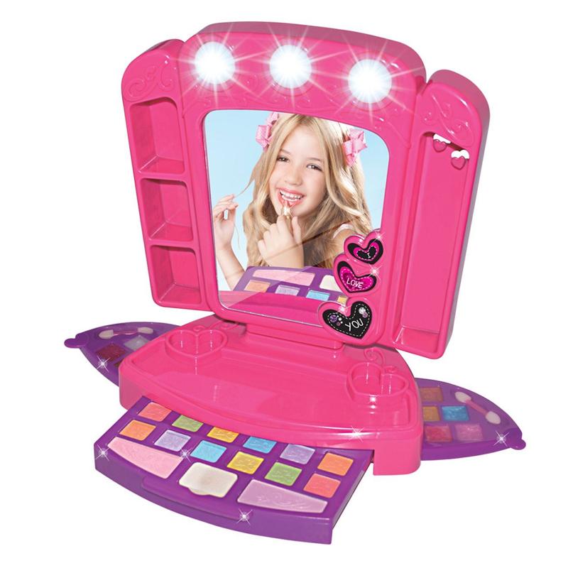 Set trusa machiaj cu oglinda Make-up Beauty Set, 2 x AA, 3 ani+ 2021 shopu.ro