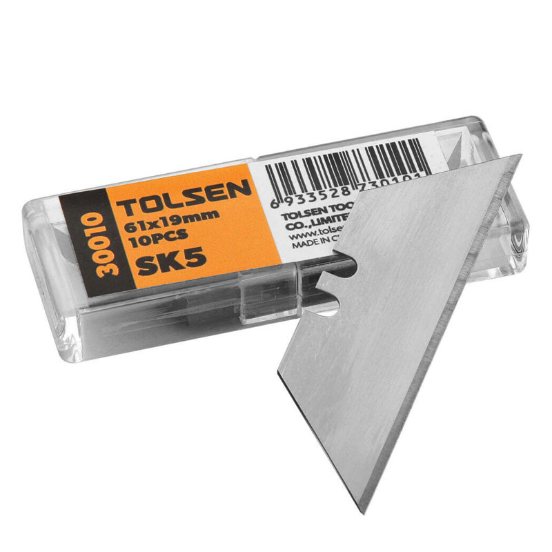 Set 10 lame Tolsen, 61 x 19 x 0.6 mm 2021 shopu.ro