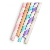 Set 150 paie de unica folosinta Family Pound, 250 x 6 mm, hartie, pastel, 5 modele, Multicolor