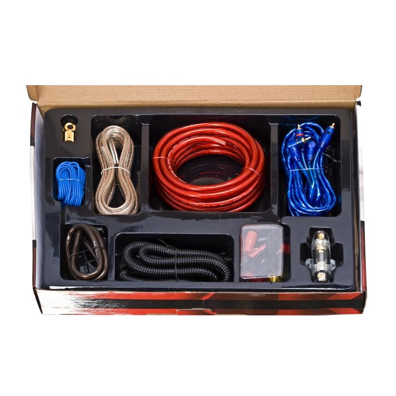 Set cabluri auto pentru sistem audio Carguard, 33 bucati, Multicolor 2021 shopu.ro