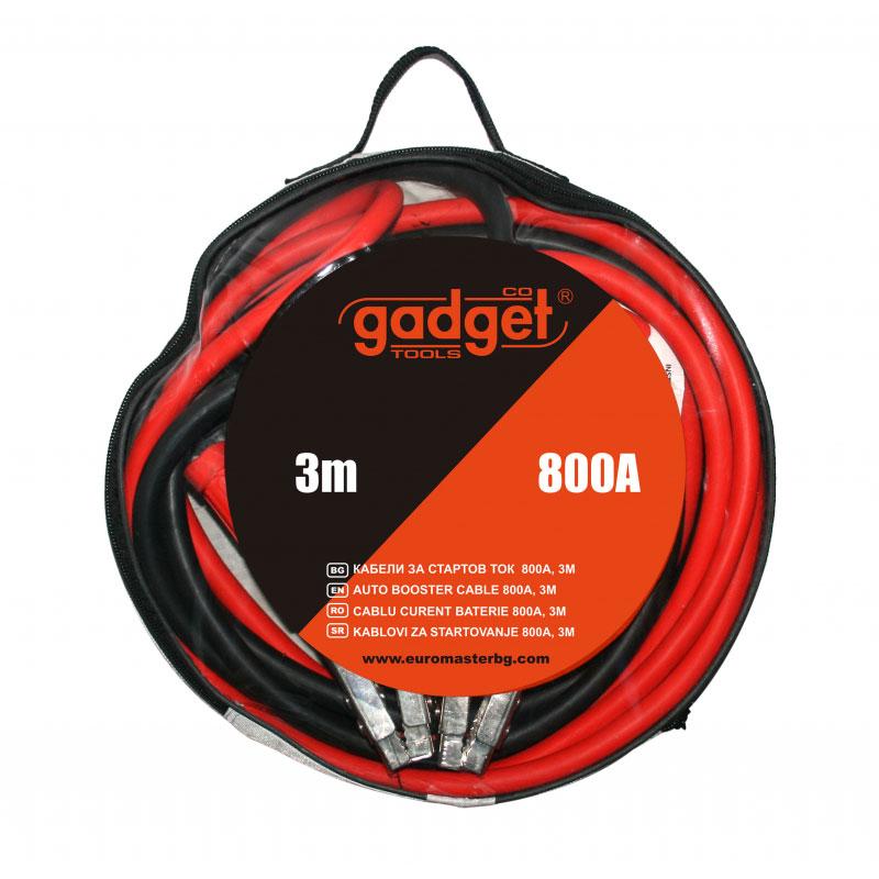 Set cabluri pornire auto Gadget, 800 A, 3 m 2021 shopu.ro