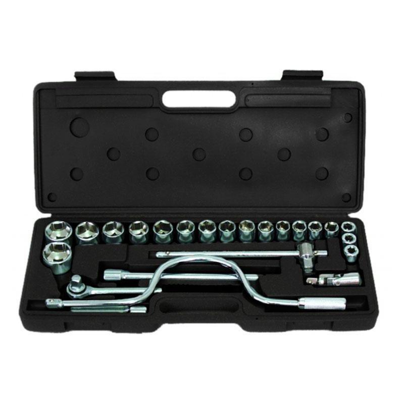 Set chei tubulare Cr-V Gadget, 1/2 inch, 8-30 mm, 24 piese, cutie depozitare inclusa 2021 shopu.ro