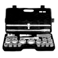 Set chei tubulare Cr-V Gadget, 3/4 inch, 21-65 mm, 26 piese