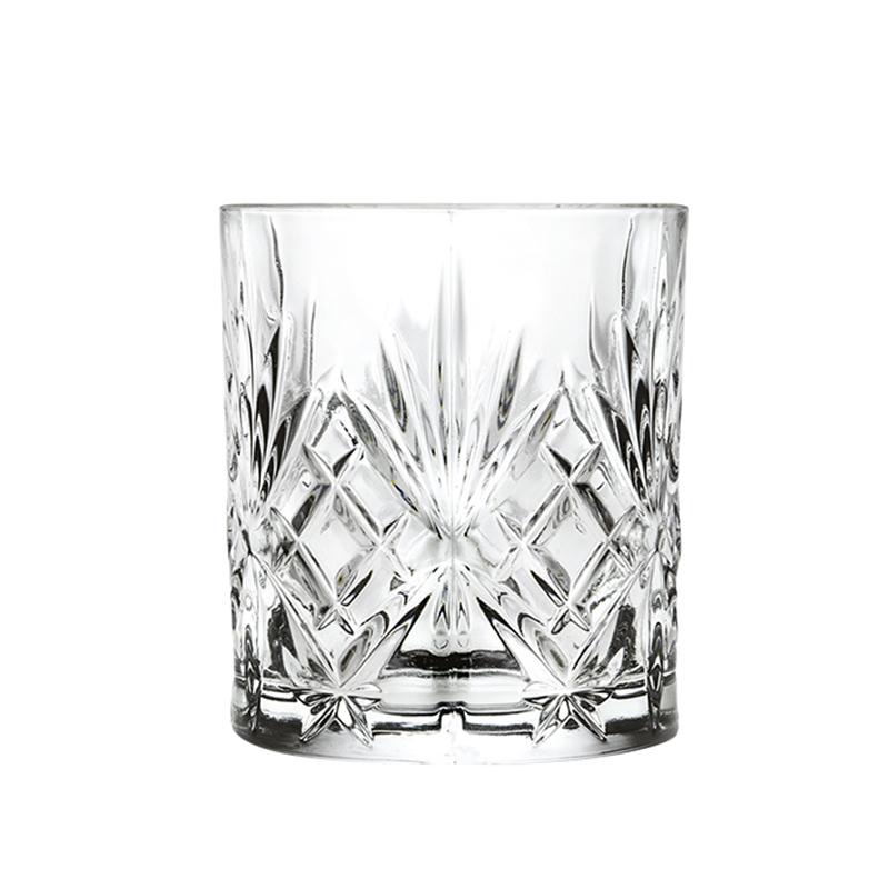 Set pahare Melodia Rcr Cristal, 310 ml, cristal, 6 bucati