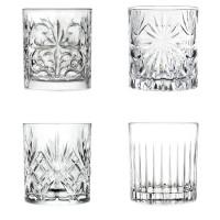 Set pahare Mixology Rcr Cristal, cristal, 4 bucati