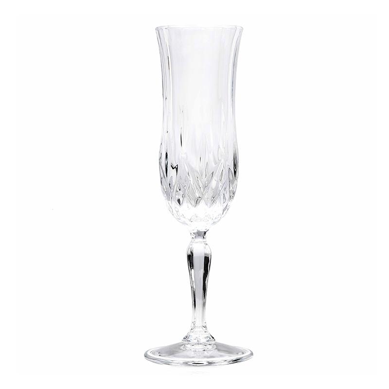 Set pahare cu picior Opera Rcr Cristal, 130 ml, sticla, 6 bucati 2021 shopu.ro