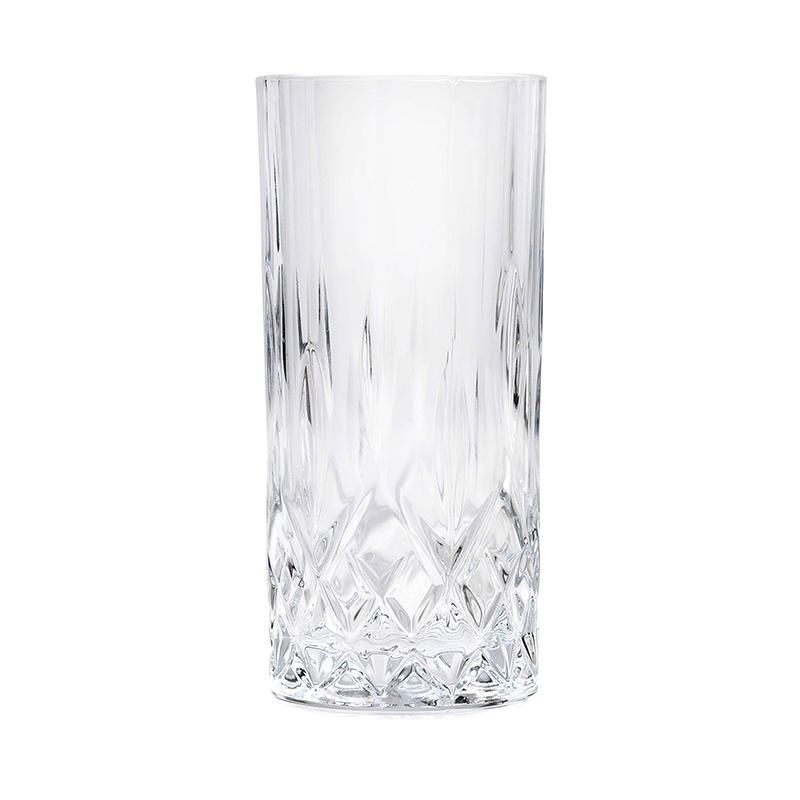Set pahare inalte HB Opera Rcr Cristal, 350 ml, sticla, 6 bucati 2021 shopu.ro