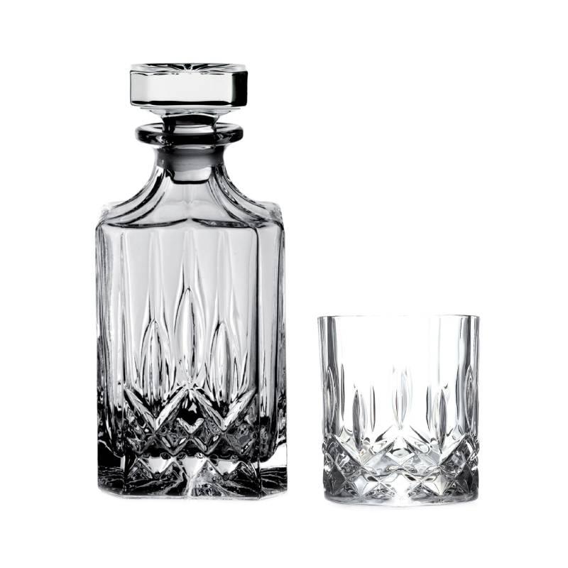 Set piese whisky Opera Rcr Cristal, 750 ml, sticla, 7 bucati 2021 shopu.ro