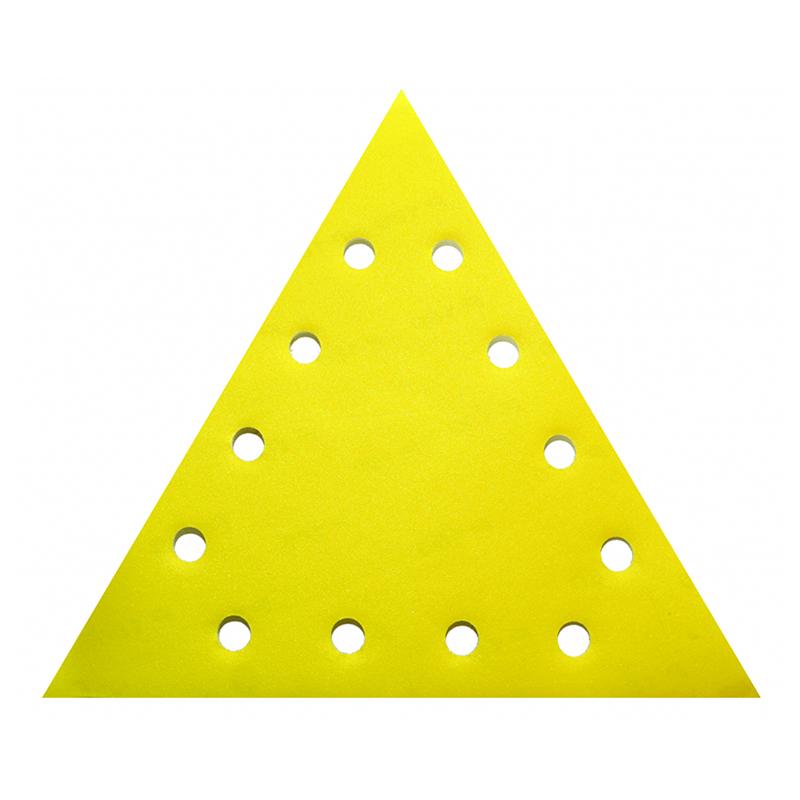 Set smirghel triunghiular Raider, 285 mm, granulatie 100 mm, prindere velcro, 5 bucati shopu.ro